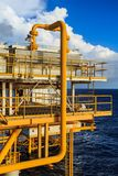 Offshore the Industry oil and gas. Production petroleum pipeline stock photos