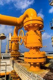 Offshore Industry oil and gas Royalty Free Stock Photo