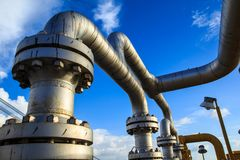 Offshore the Industry oil and gas. Production petroleum pipeline stock images
