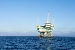 Offshore oil platform Stock Photo