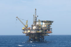 Offshore  oil rig Royalty Free Stock Images
