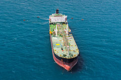 Offshore oil rig drilling platform. / in the gulf of Thailand Royalty Free Stock Image