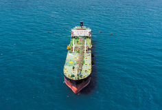 Offshore oil rig drilling platform. / in the gulf of Thailand Royalty Free Stock Photo