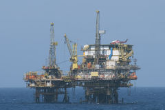 Offshore operation Royalty Free Stock Images