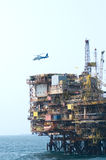 Offshore operation Stock Photos