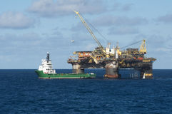 Offshore operation Stock Photo