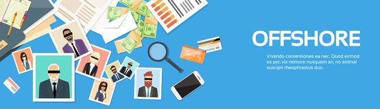 Offshore Papers Documents Company Business People Owners Profile Stock Photography