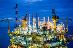 Offshore platform. The offshore platform in south of Thailand Stock Images