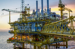 Offshore platform Royalty Free Stock Photo