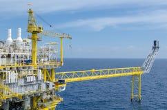 Offshore platform Stock Images