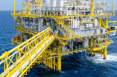 Offshore platform. In south of Thailand Stock Photos
