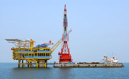 OFFSHORE PLATFORMS Royalty Free Stock Image