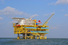 OFFSHORE PLATFORMS stock image
