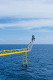 Offshore platfrom Stock Photography