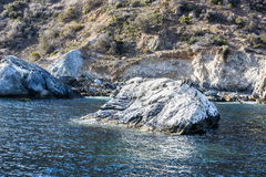 Offshore reef at Catalina Island Royalty Free Stock Photos