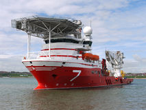 Offshore Subsea B1. High tech offshore oil and gas subsea vessel Stock Images