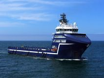 Offshore Supply Ship M Royalty Free Stock Image
