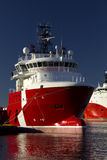 Offshore supply ship Stock Photography