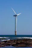 Offshore Turbine Royalty Free Stock Image
