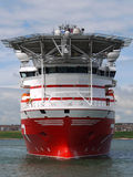 Offshore Vessel B2. High tech offshore subsea vessel Royalty Free Stock Photos