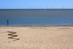 Offshore Wind-Farm Royalty Free Stock Photos