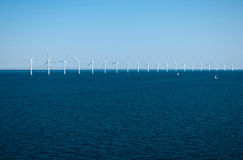 Offshore Wind Farm Royalty Free Stock Images