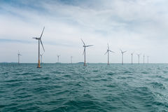 Offshore wind farm Stock Photos