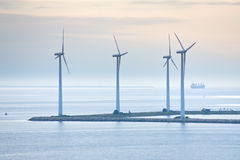 Offshore wind farm near Copenhagen, Denmark Stock Photography