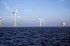 Offshore- wind farm - Renewable Energy stock images