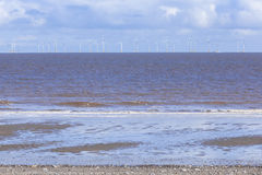 Offshore wind farm Spurn Point UK Stock Photography