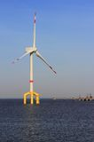 Offshore wind power plant Stock Photos