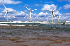 Offshore wind Royalty Free Stock Photos