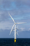 Offshore Windfarm Royalty Free Stock Photography