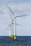 Offshore Windfarm Royalty Free Stock Photo
