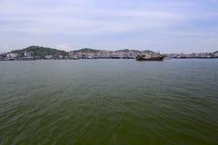 Offshore of wuyu island, zhangzhou city Royalty Free Stock Photo
