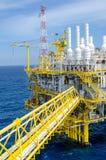 Offshoreplattform stockfoto
