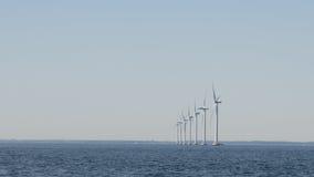 Offshorewindpark Lizenzfreies Stockbild