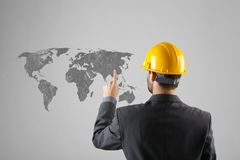 Offshoring concept Royalty Free Stock Photo