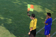 Offside Stock Photo