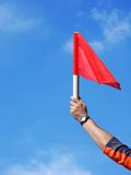 Offside Royalty Free Stock Photo