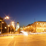 Ofia square in Kyiv. Panoramic view of Sofia square in Kyiv, Ukraine Royalty Free Stock Photography