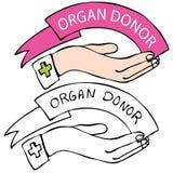 ofiarodawca organ royalty ilustracja
