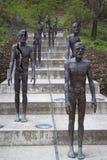 ofiary communism pomnik Rzeźbiarz Olbram Zoubek Obraz Stock