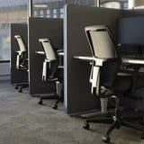 Ofice krzesła z rzędu Obrazy Royalty Free