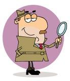 oficer śledczy mężczyzna royalty ilustracja