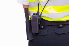 oficer ochrona Obraz Royalty Free