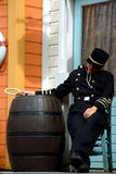 oficer śpi obrazy royalty free
