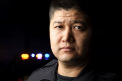 oficer policja Fotografia Royalty Free