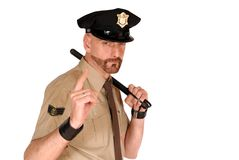 oficer policji Zdjęcia Stock