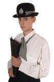 oficer policji brytyjskiej żeńskiej Obrazy Stock